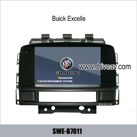 Buick Excelle OEM stereo radio GPS DVD Player IPOD GPS navi SWE-B7011