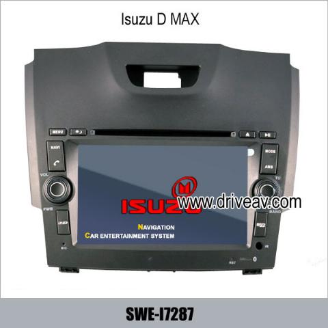 Isuzu DMAX stereo DVD player GPS navi IPOD rearview camera SWE-I7287