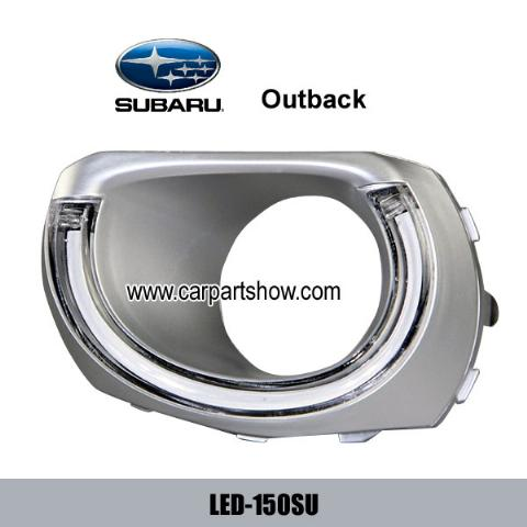SUBARU Outback DRL LED Daytime Running Lights Car headlight parts Fog lamp cover LED-150SU