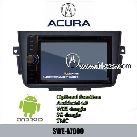 ACURA MDX 01-06years radio Car DVD Player GPS Android wifi 3G internet SWE-A7009