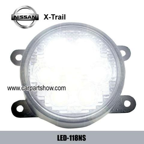 NISSAN X-Trail DRL LED Daytime Running Lights Car headlight parts Fog lamp cover LED-118NS