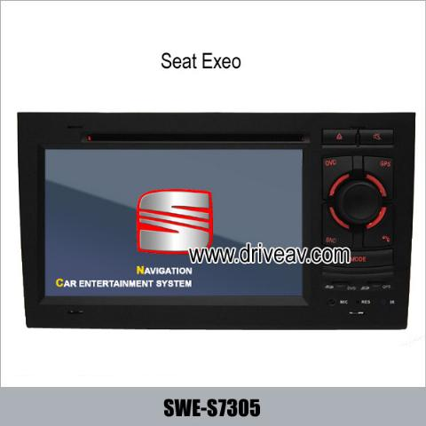 Seat Exeo OEM stereo car dvd player GPS navigation TV IPOD SWE-S7305